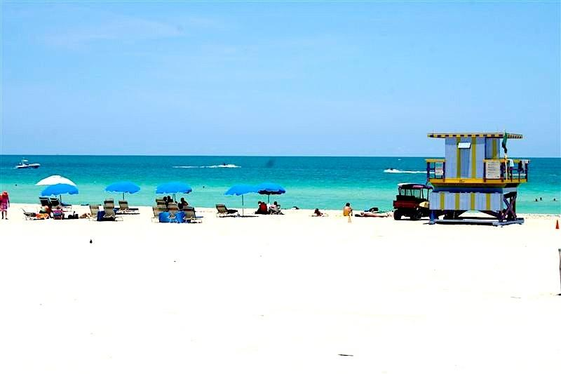 Beautiful & MOST Inviting WORLD Famous Beach in South Beach ONLY 2 Blocks from my Apartment.