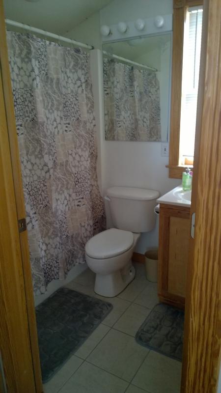 Master casa de banho com banheira e jatos extras