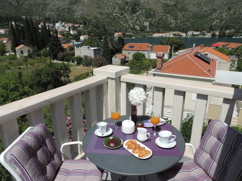 Great Apartment in Perfect Location near Dubrovnik, holiday rental in Zaton