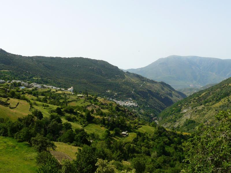 The white villages of the Alpujarras