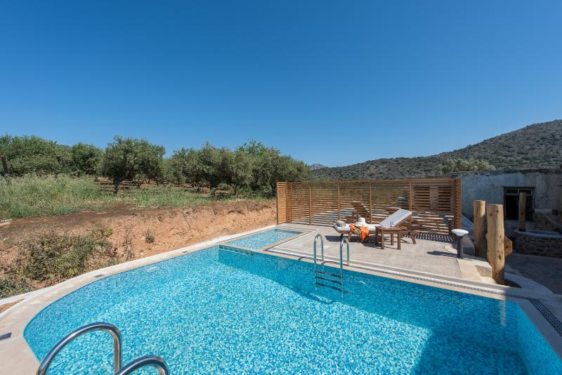 Lameriana Luxury villa with private pool, vacation rental in Panormos