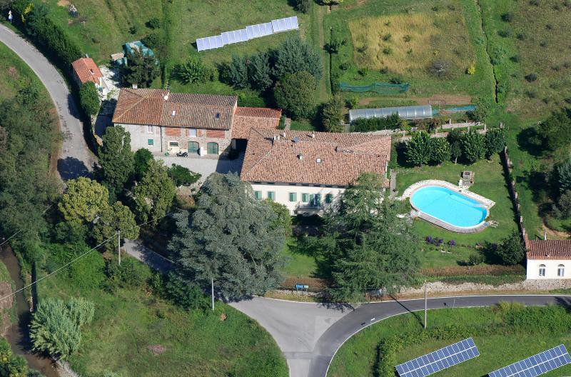 Villa Lanizzi Biospazio Lucca, holiday rental in Maggiano