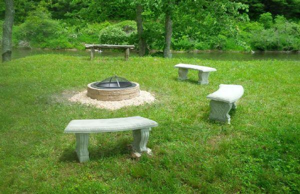 Enjoy The River by the fire pit