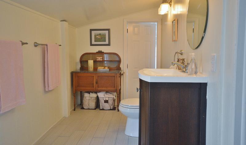 Updated charming bathroom