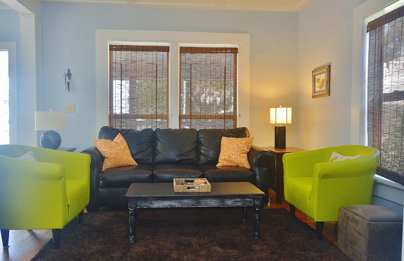 Very comfortable seating in living area