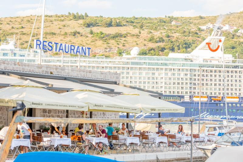 Nearby Yacht Club Orsan and Restaurant Orsan