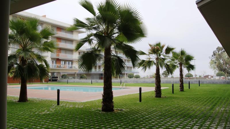 Zona comunitaria y piscina