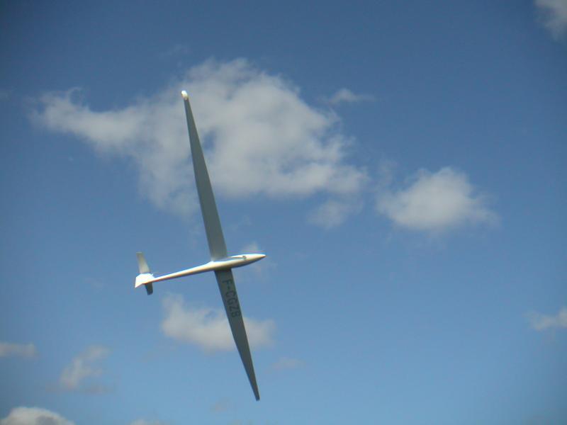 du vol à voile au pic St Loup, 20 km