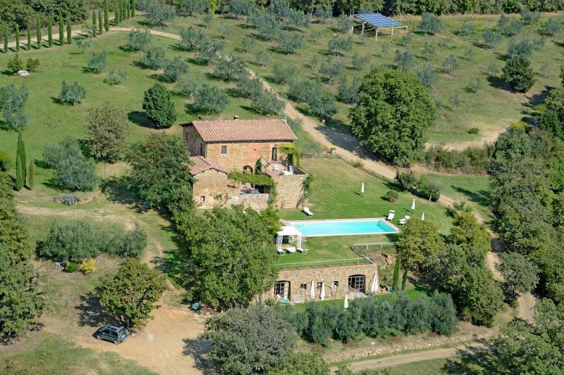 agriturismo campovecchio - Appartamento Castagno, vacation rental in Castelnuovo Berardenga