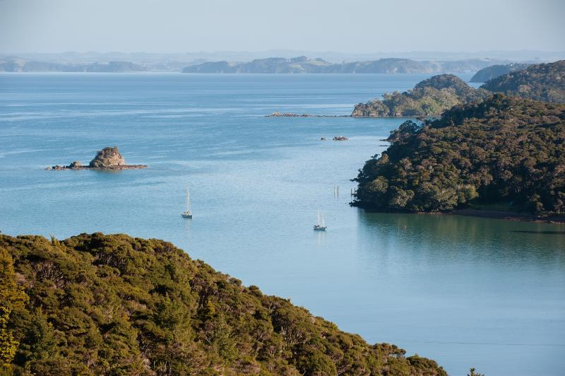 Gorgeous Bay of Islands View from the deck