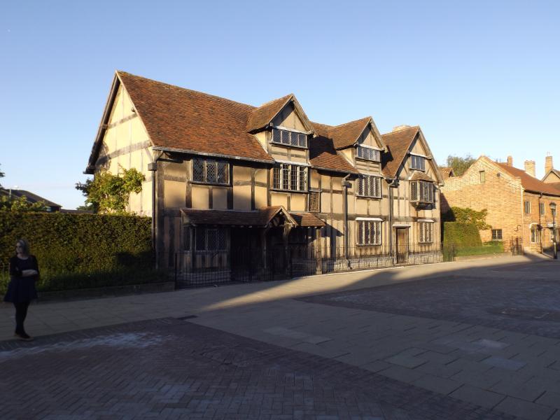 Shakespeares Birth Place, Stratford-upon-Avon