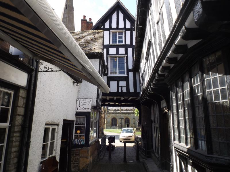 Historic Evesham, Amarket town on the banks or the River Avon