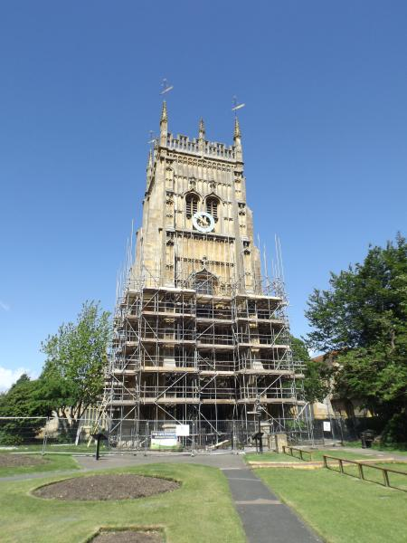 The Bell Tower, Evesham (currently undergoing restoration)