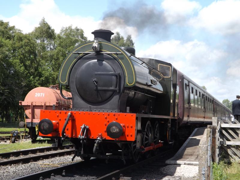 Peak Rail - take the steam train from Rowsley to Matlock