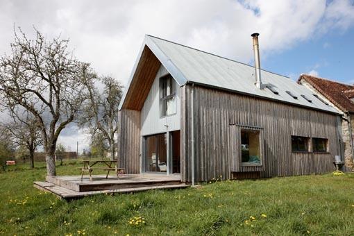 maison d'Architecte Campagne Normande, location de vacances à Putanges-Pont-Ecrepin