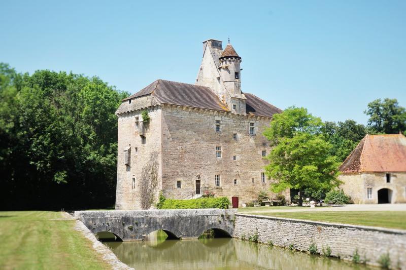 le Vieux Château du 15ème siècle, location de vacances à Marigny-le-Cahouet