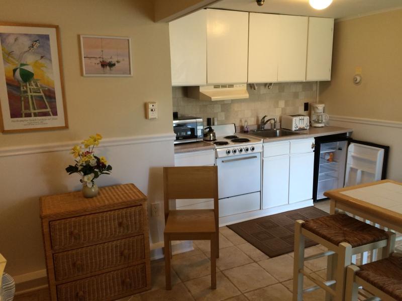 Kitchenette in SeaBreeze Suite