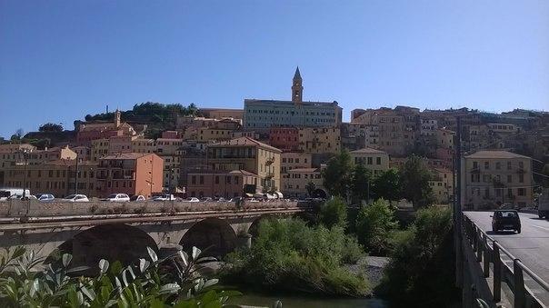 Ventimiglia Alta - the medieval quarter of Ventimiglia