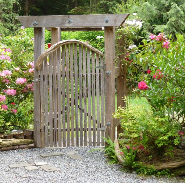 Entrance to your own private garden