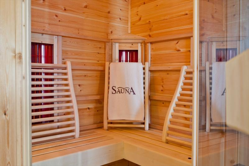 The Sauna and Hammam invite you to chill out and relax.