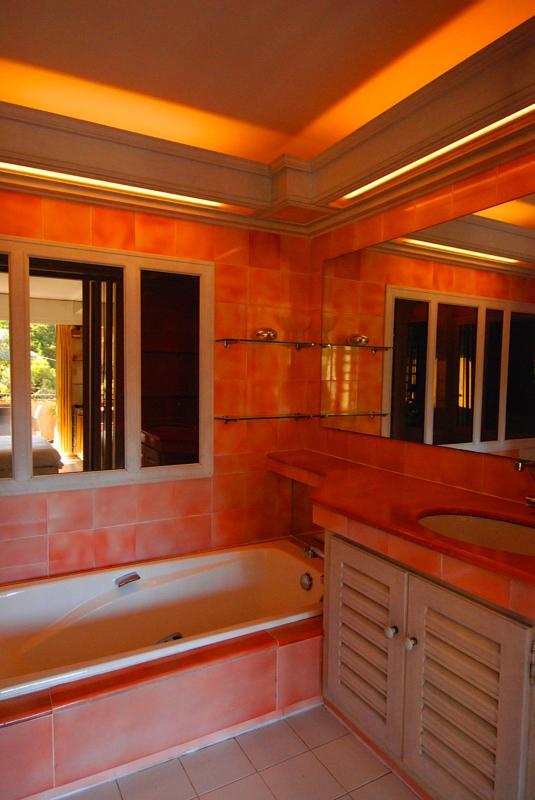 Para duche e banho privada mestre