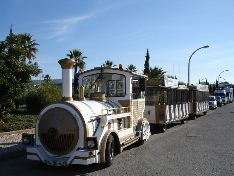 tourist train to show you the sites