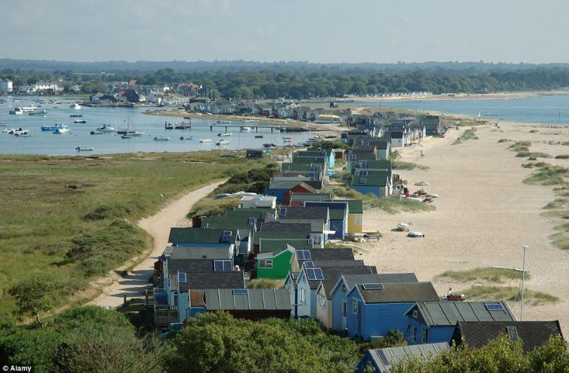 Mudeford sandspit - can be reached by river ferry and a pleasant walk from Quarterdeck