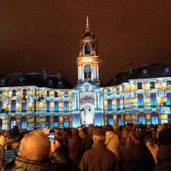 Rennes Christmas light spectacular