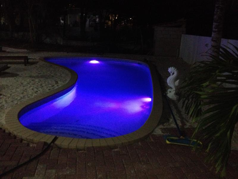 Swimming in evening is possible