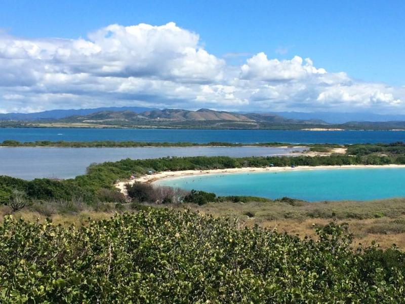 Beautiful views of La Playuela Beach from Los Morillos Lighthouse (10-minute drive away)