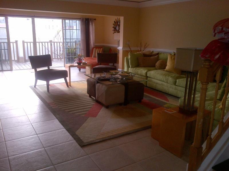 Open floor plan-living area/tv. area