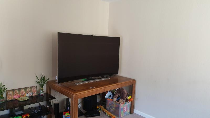 65' gebogen UHD 3D Samsung Tv met 3D Bluray Player en 5.1 doos
