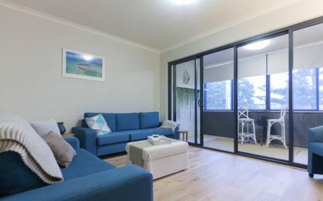 Large open plan lounge area