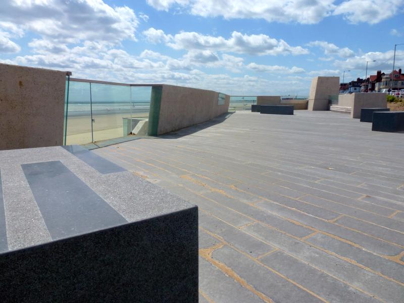 new promenade and seating area on your door step