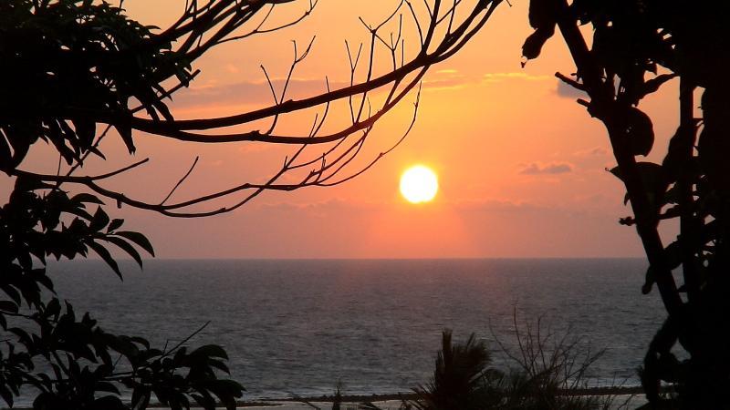 amazing sunrise around 5am