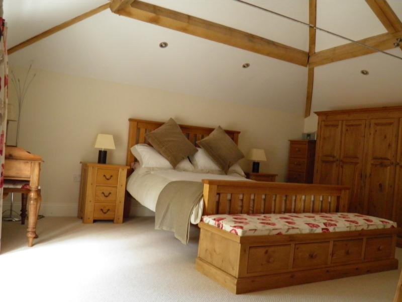 Bedroom one - the largest of the three upstair bedrooms