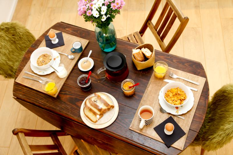 Your hearty breakfast table