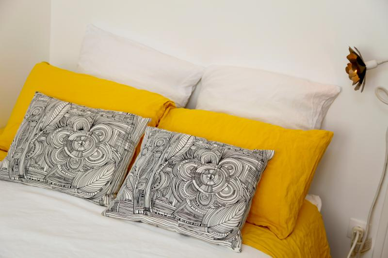 Pillows are waiting for you for a beautiful night