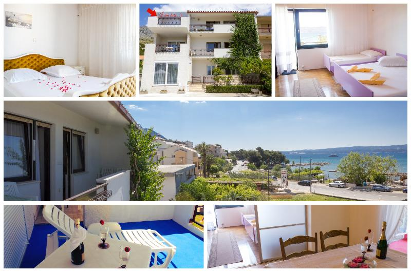 Blue sea view apartment, Duce, alquiler de vacaciones en Duce