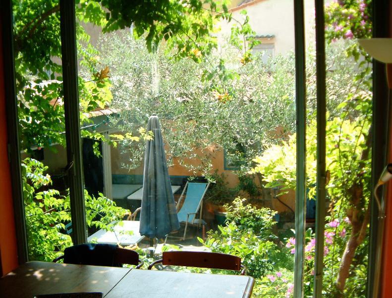 Garden tables for 8