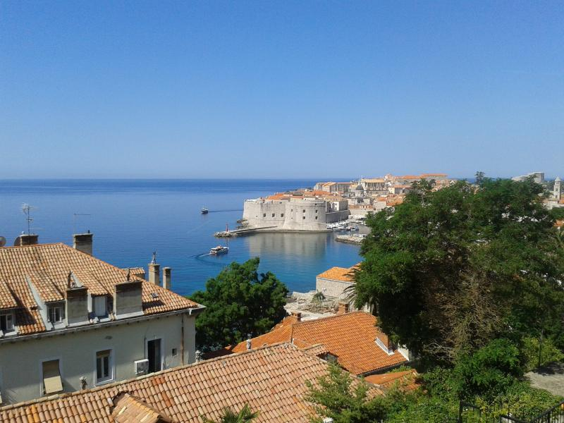 Old Town and the sea view from Apartment Luana