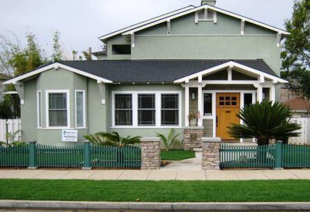 Oceanside Craftsman House
