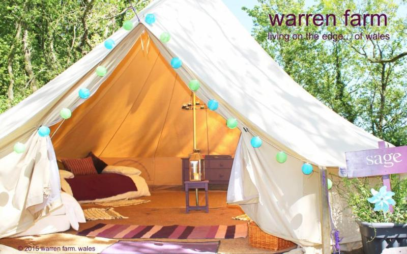 A gorgeous 6m bell tent at Warren Farm Wales & A gorgeous 6m bell tent at Warren Farm Wales - TripAdvisor ...