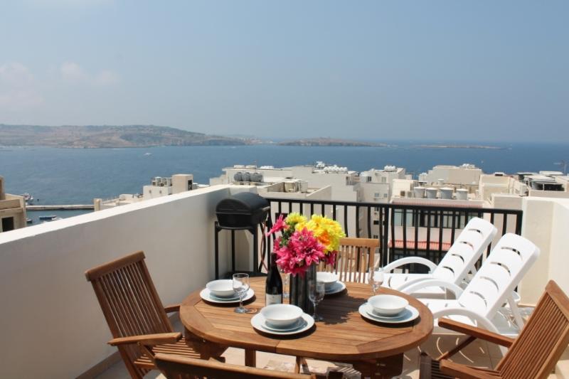 Wonderful seaview from terrace