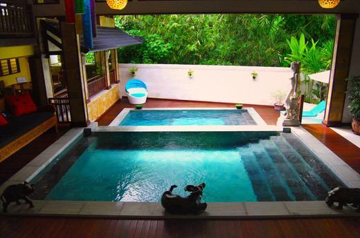 Villa Lola, 3 BR Family retreat, holiday rental in Kerobokan Kaja