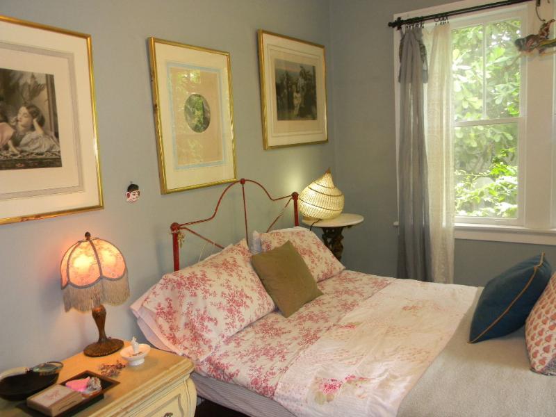 Our vintage bedroom