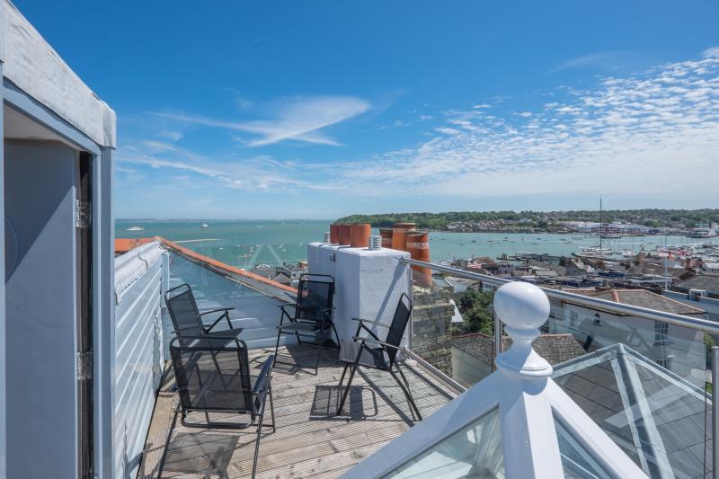 terraza con impresionantes vistas panorámicas