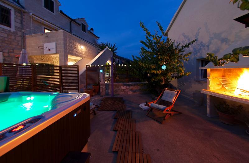 Spa & sun zone at Apartments Sara Bol