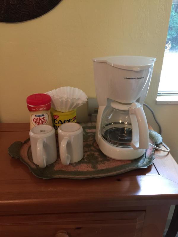 Complimentary Coffee and Tea