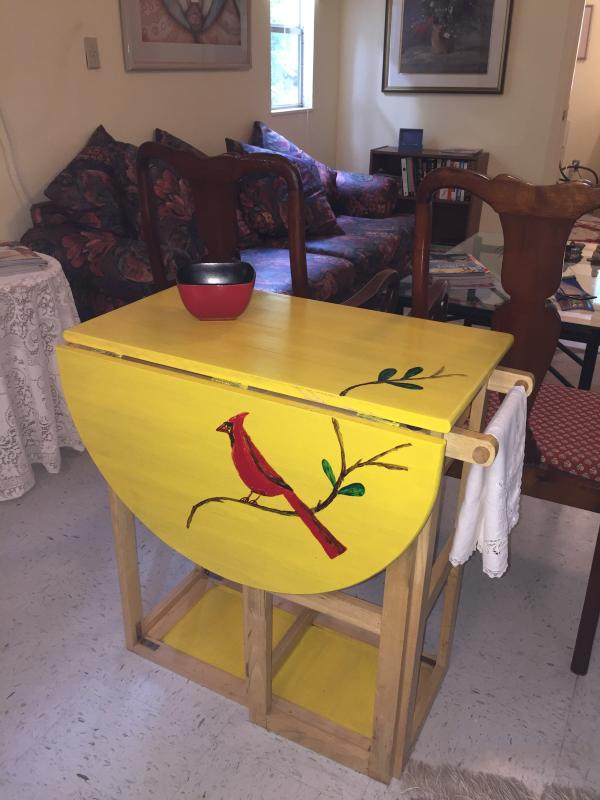 Table Art in Main Living Area